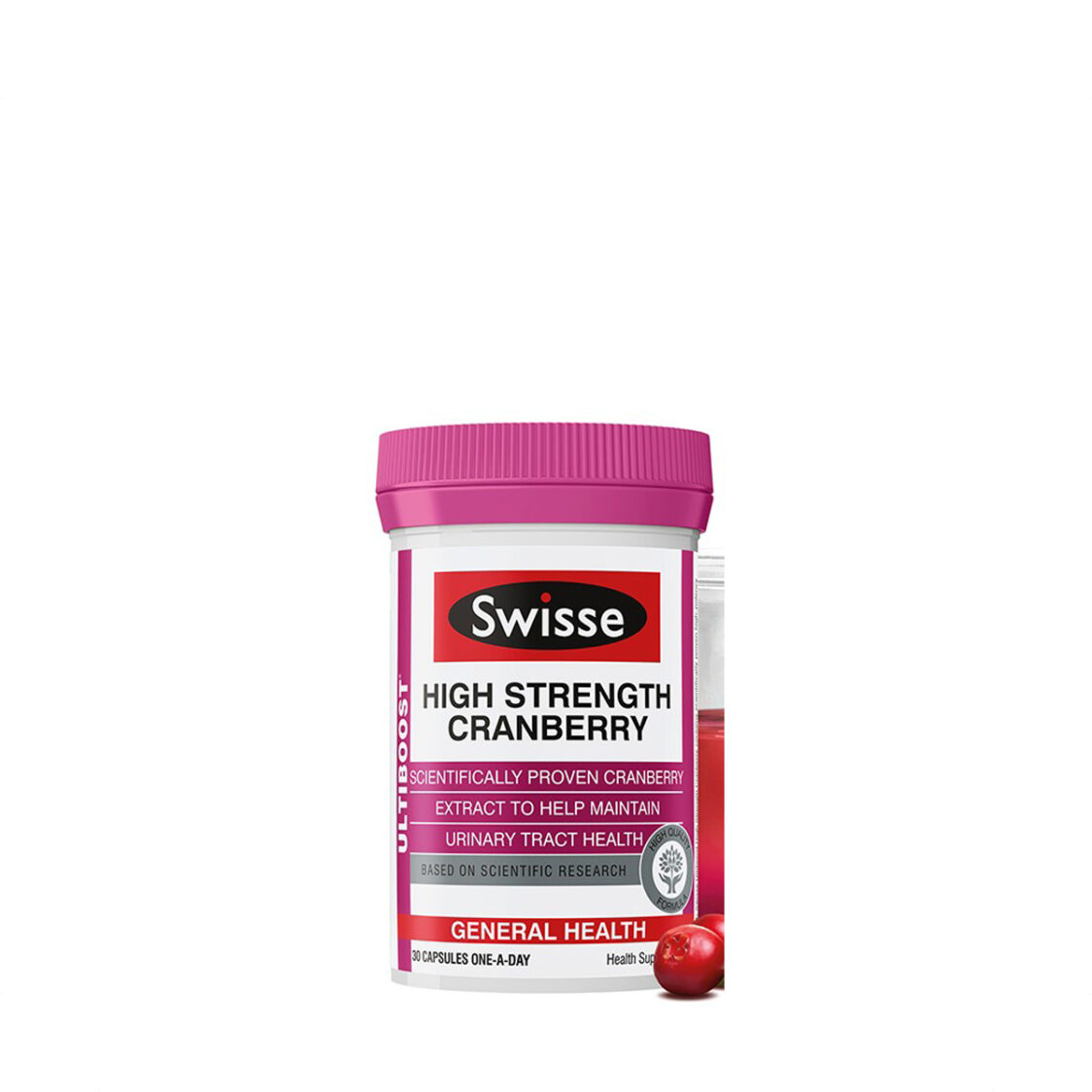 Swisse Ultiboost High Strength Cranberry 30s