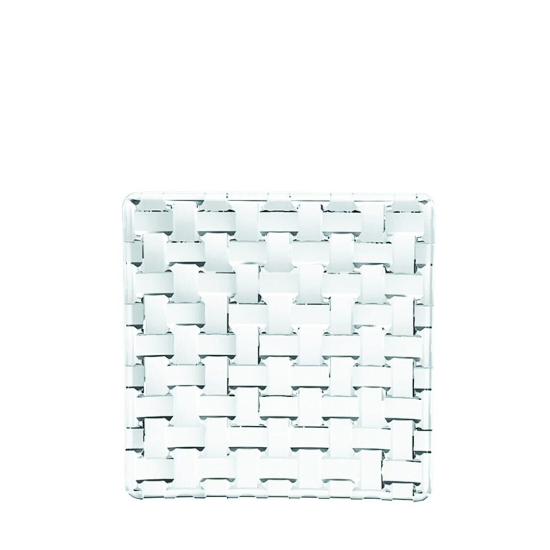 Nachtmann Lead Free Crystal Square Platter Set Of 2Pcs Bossa Nova R-101907