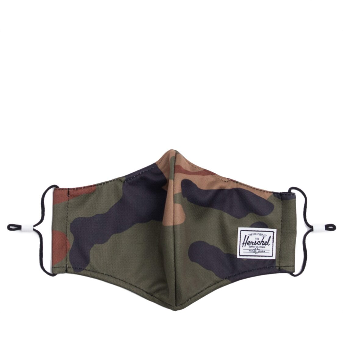 Herschel Classic Fitted Face Mask - Woodland Camo