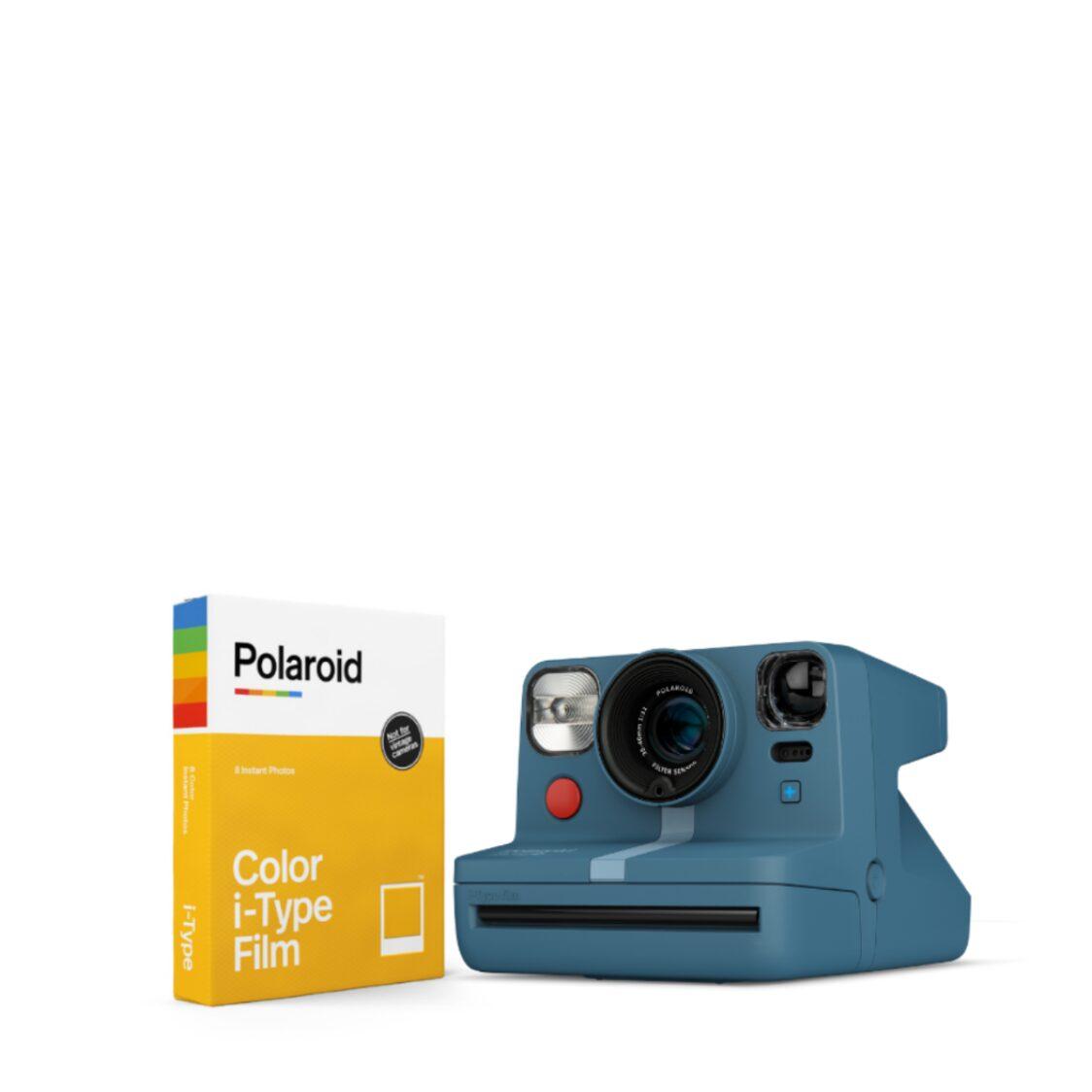Polaroid Now Starter Kit - Blue Grey