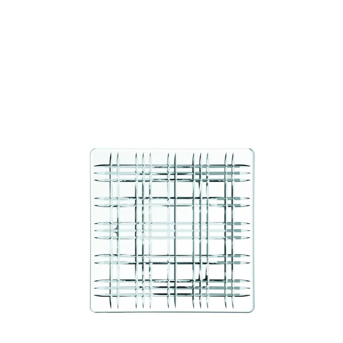 Nachtmann Lead Free Crystal Square Platter Square R-101046