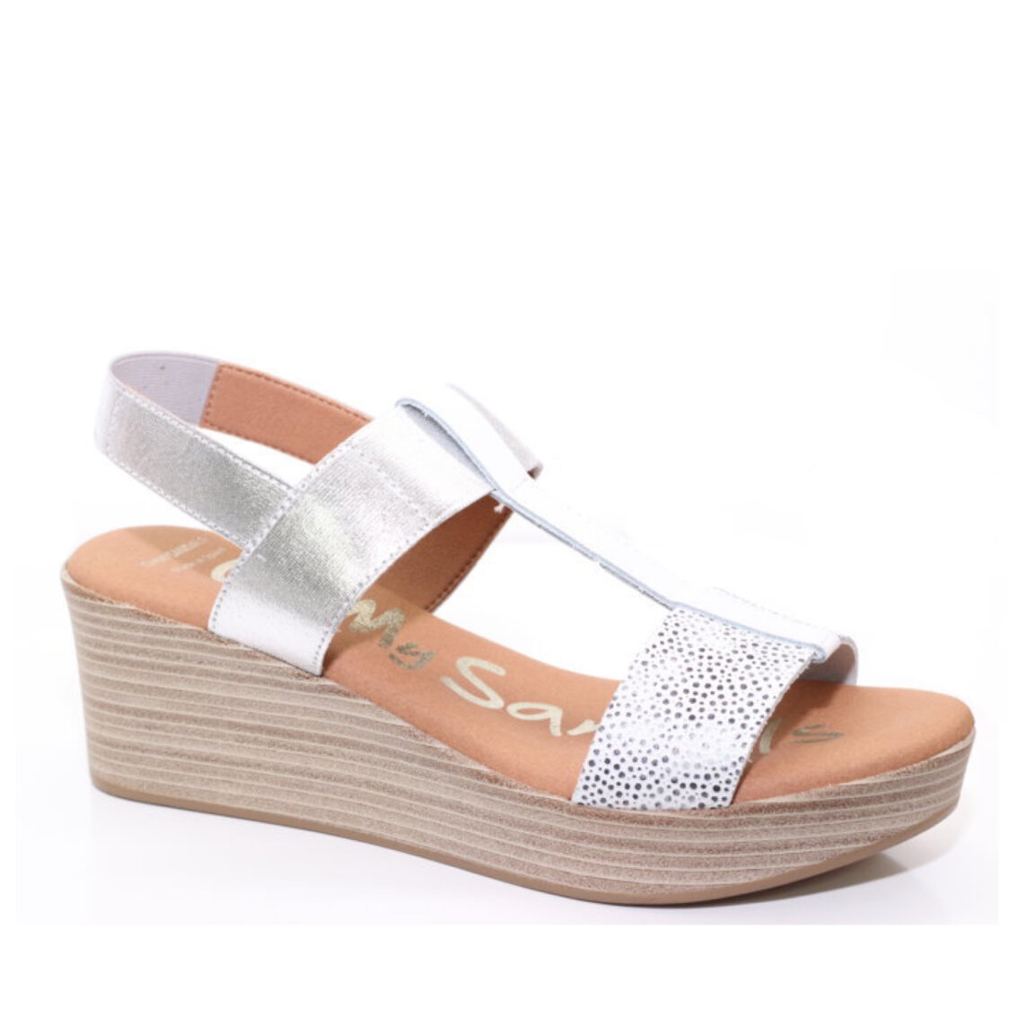 OH MY SANDALS Wedge 2 White