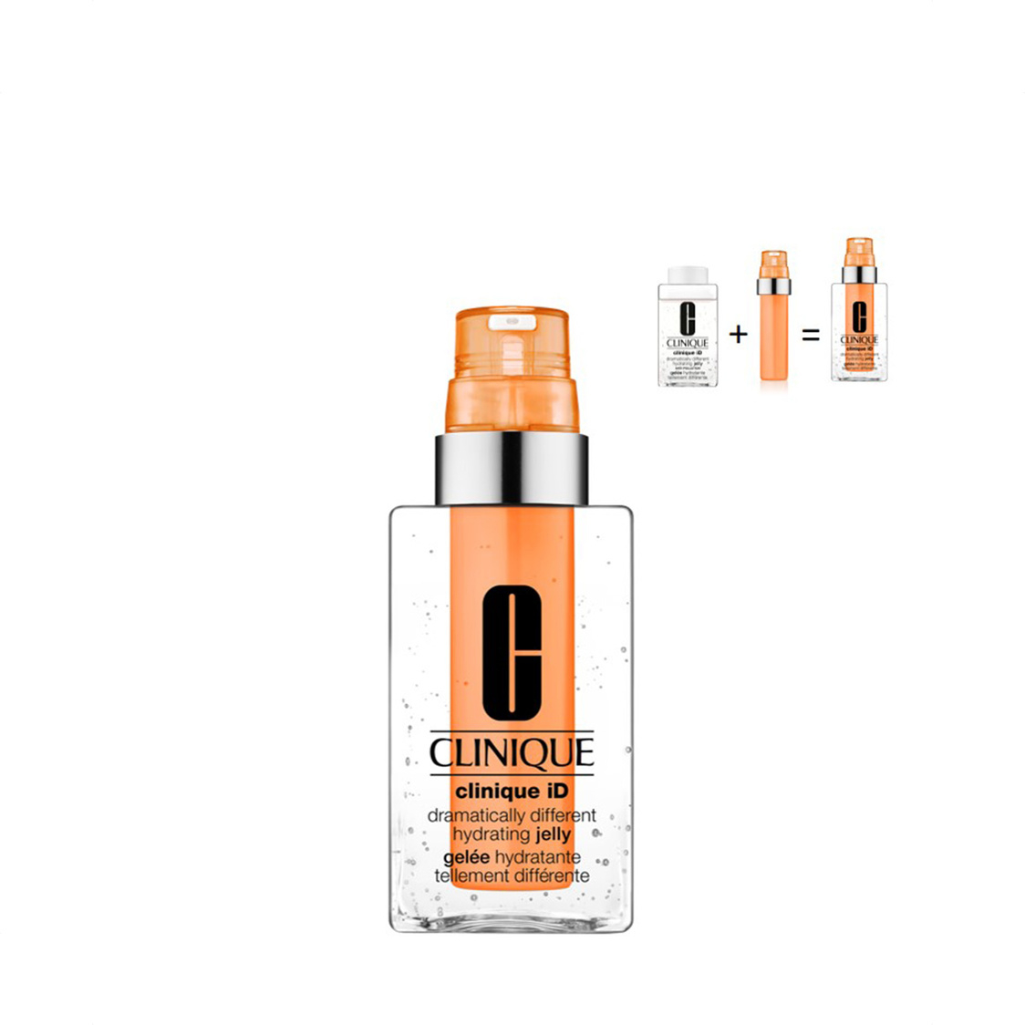 Clinique iD Dramatically Different Hydrating Jelly 115ml  Activator Cartridge Imperfections 10ml