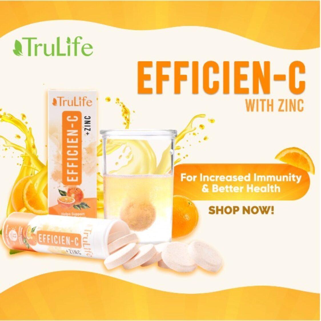 TruLife Efficien-C Orange 12 Tabs