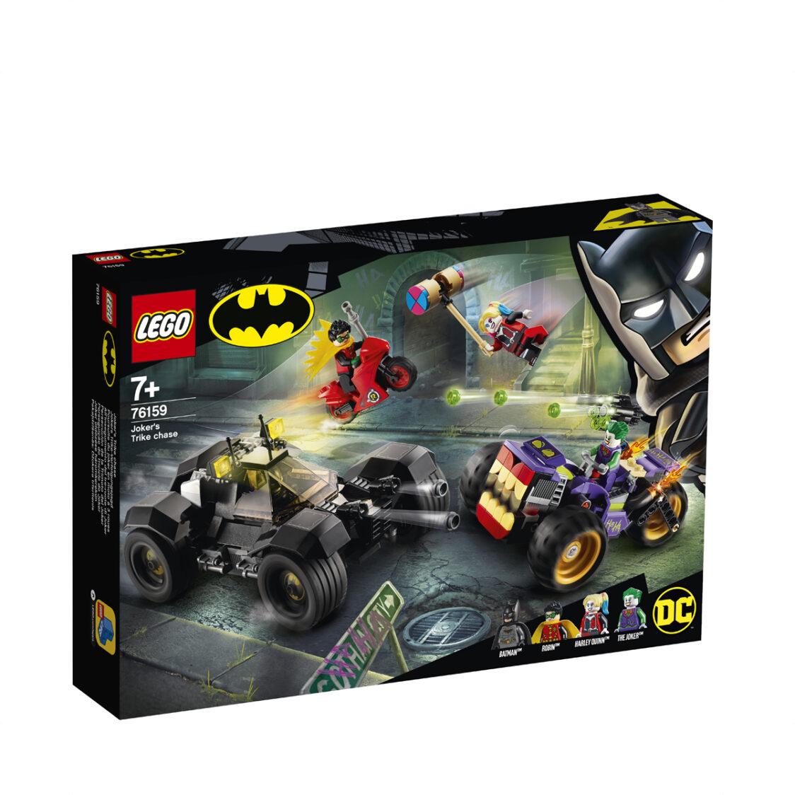 LEGO Jokers Trike Chase 76159 V29