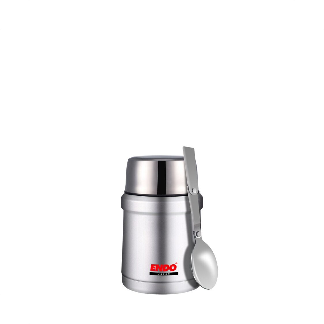 Endo 450ml Double SSteel Food Jar Pure Stainless