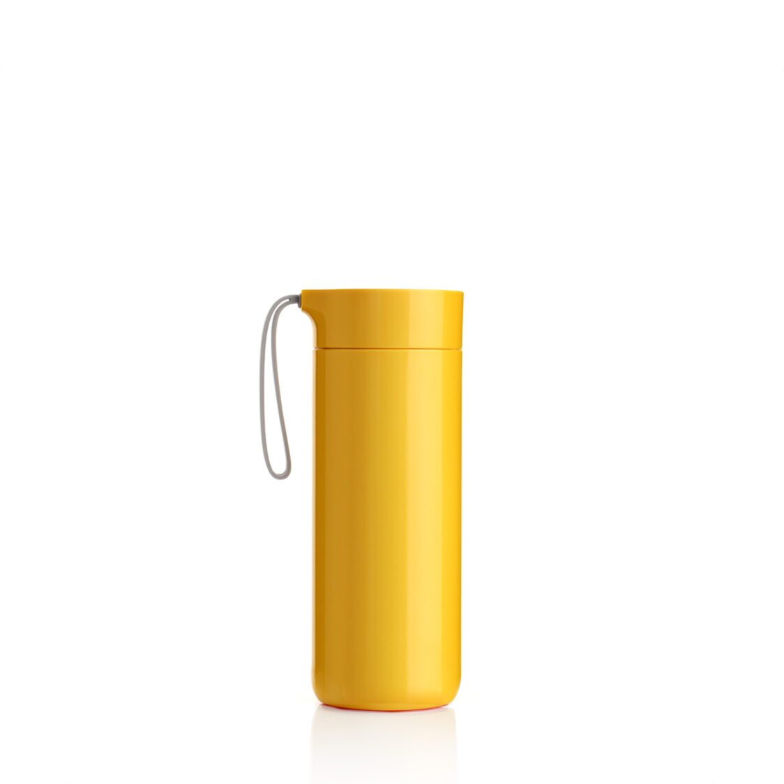 Artiart Suction Butterfly Thermal Bottle Yellow 400ml