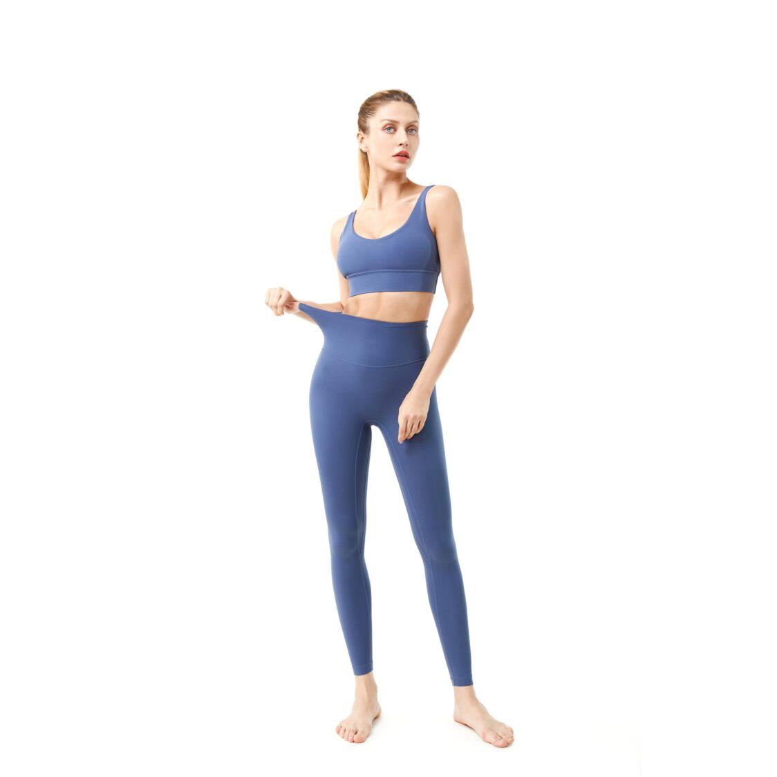 YOF Athletica Move Active Yoga Set Blue