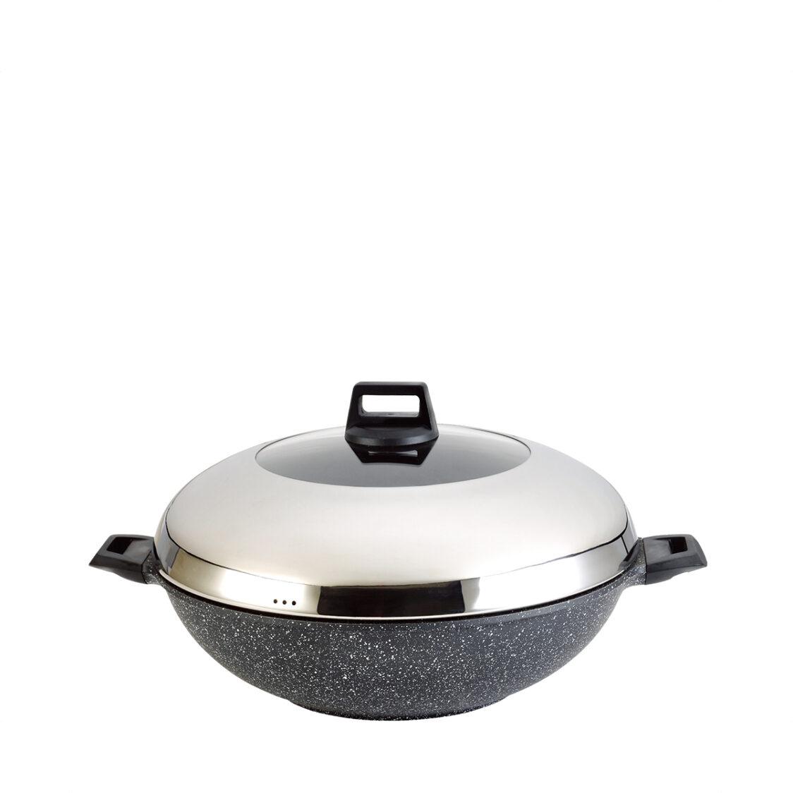 La Gourmet Shogun 40cm97L Marble IH Wok LGSO347718