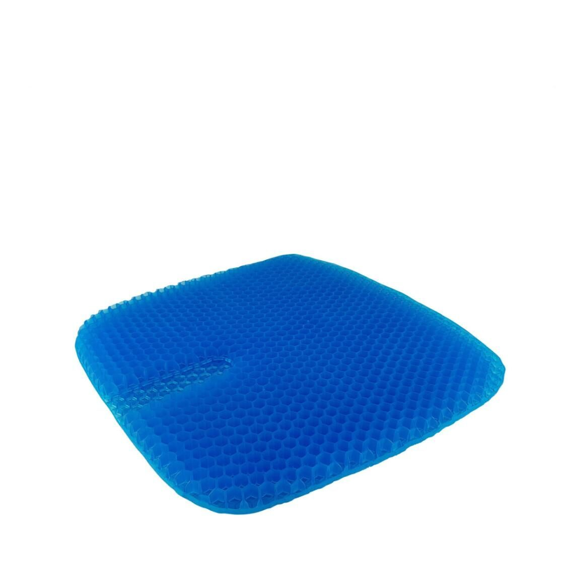 True Relief Honeycomb Cooling TPE Gel Seat Cushion Ocean Blue