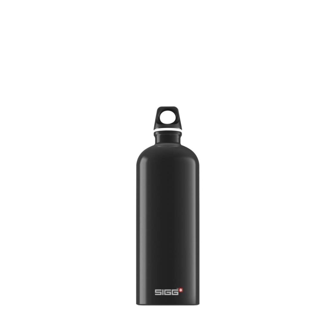 Sigg Traveller 1L Water Bottle Black 832740