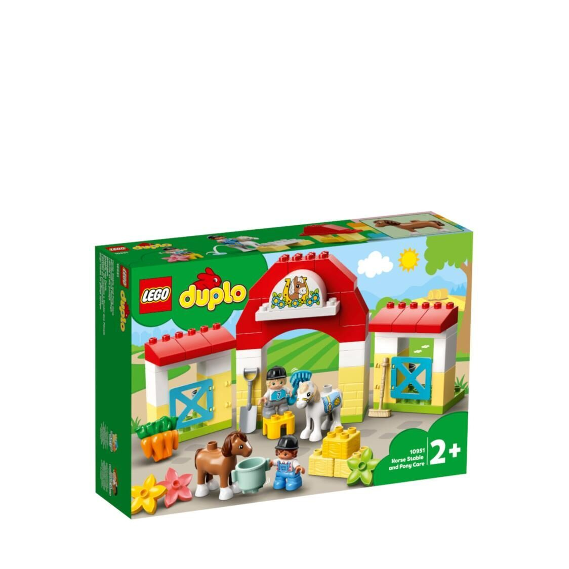 LEGO DUPLO Town - Horse Stable and Pony Care 10951