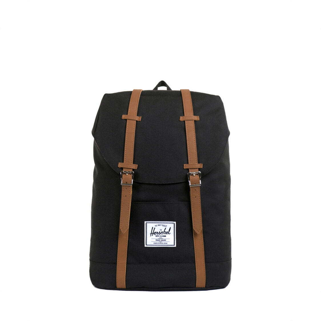 Herschel Retreat BlackTan Synthetic Leather Backpack 10066-00001-OS