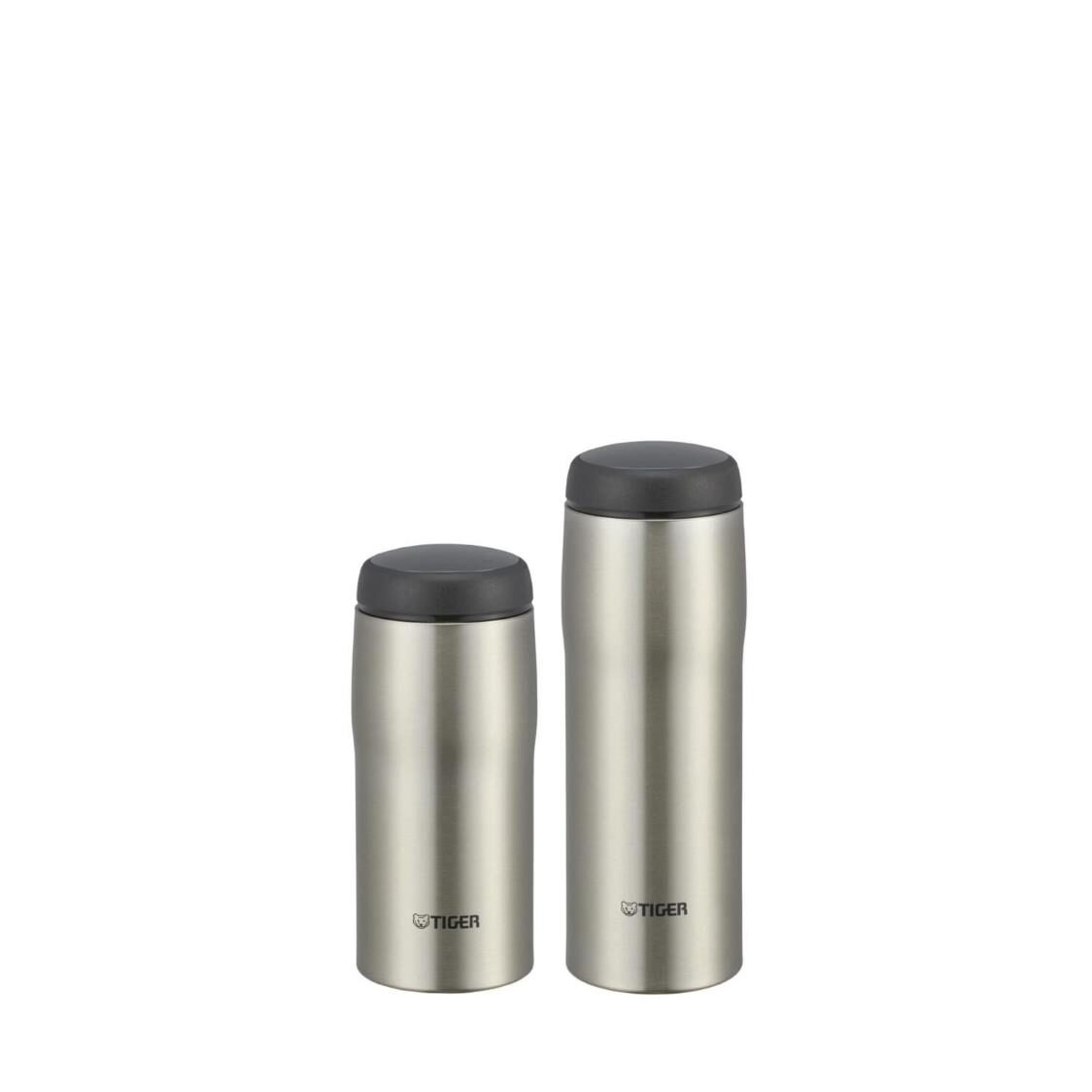 Tiger Bundle - 360ml  480ml Double Stainless Steel Mug Set Clear Stainless