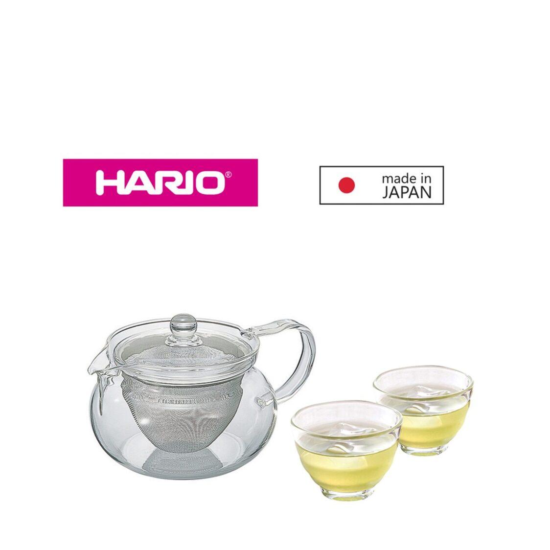 Hario Chacha Kyusu 450ml 2-cup Set CHJMN-HU-2-18