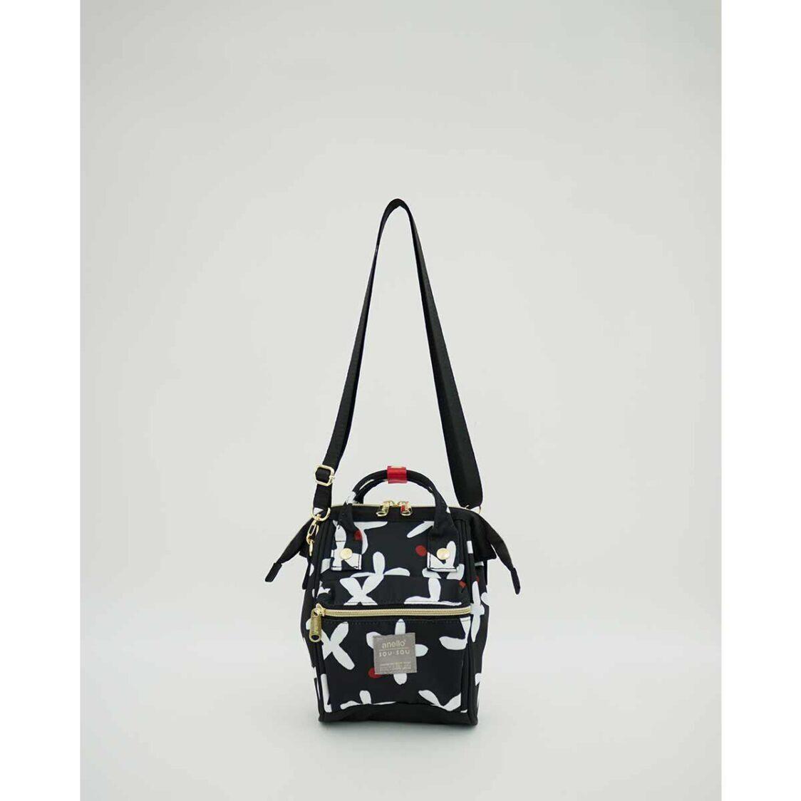 Anello X SousouT 2Way Micro Shoulder Bag Black