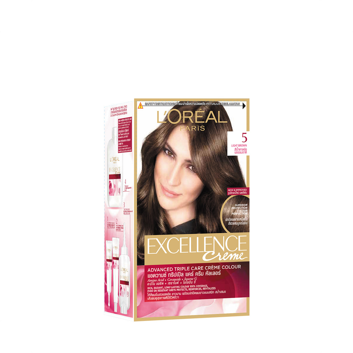 Excellence Natural Light Brown 5