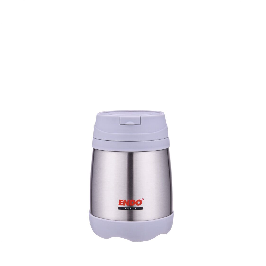 Endo 500ml Double SSteel Food Jar Pure Stainless