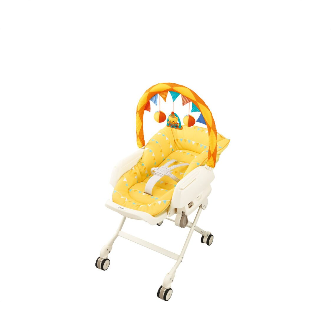 Combi Joy Circus Yellow Parenting Station New born4 Years Old 89KG