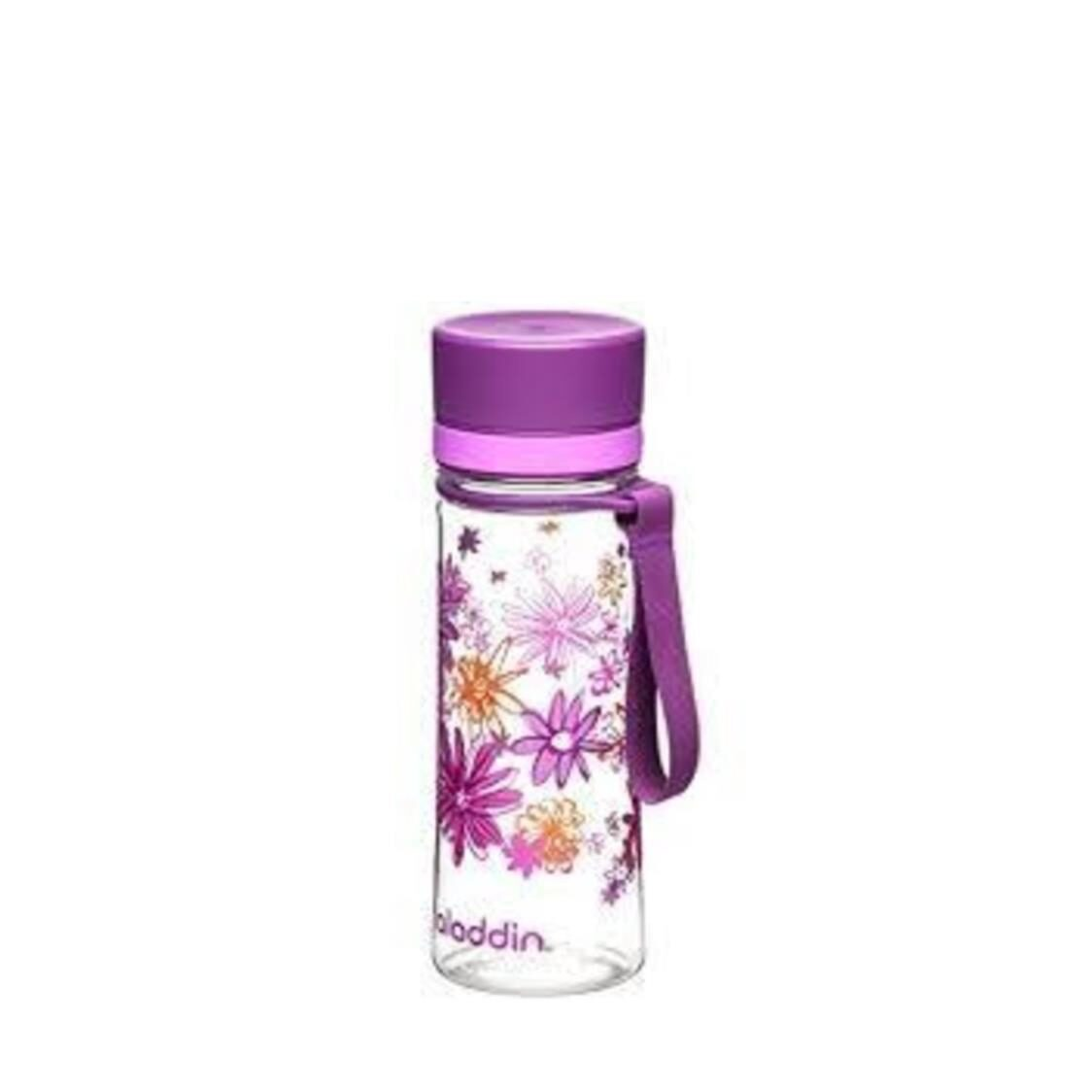 BPA-Free Aveo Water Bottle Graphic Purple 03L 1101-BPA-F-PG