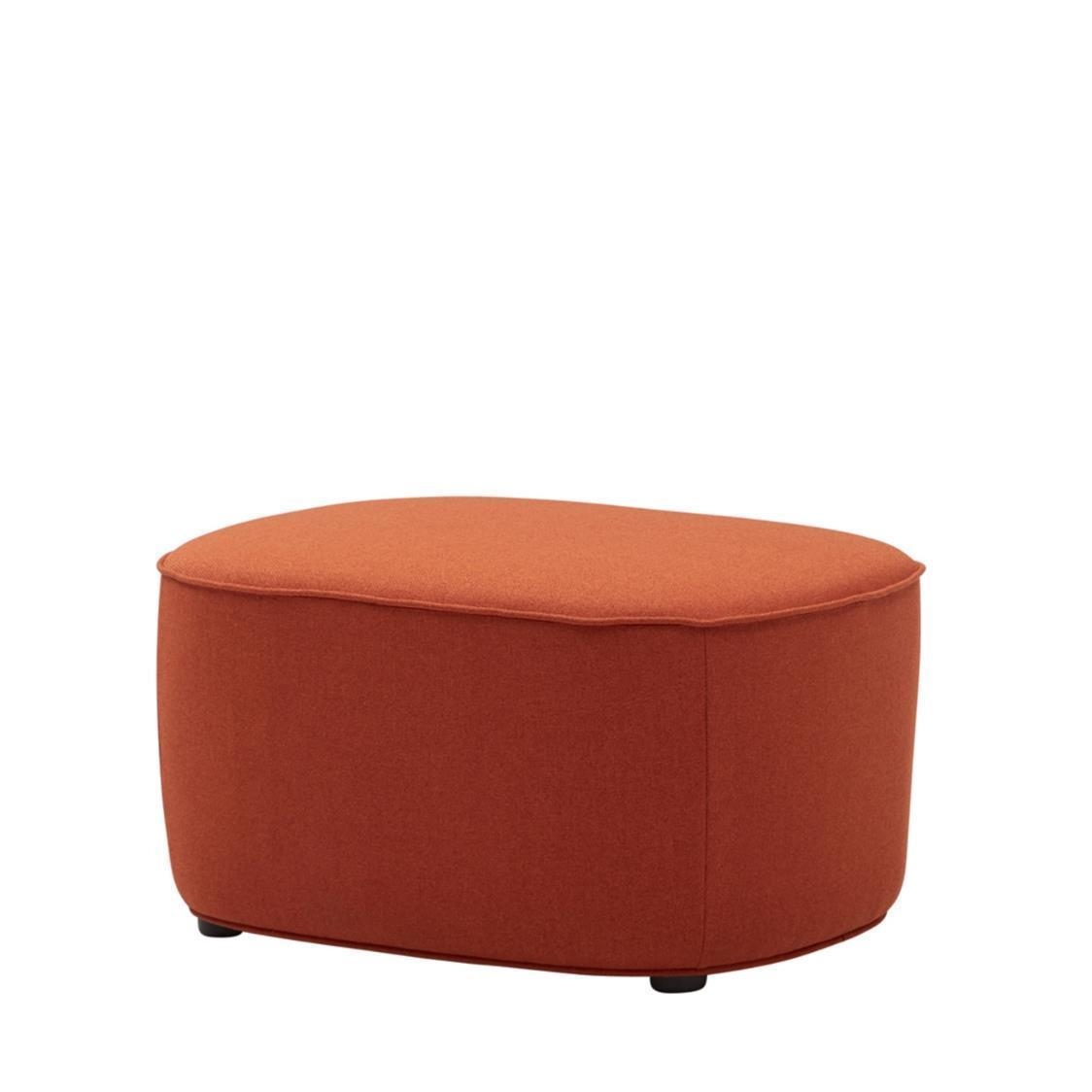 Iloom Stone Ottoman 458 Brick Orange
