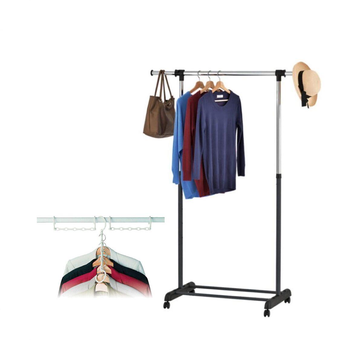 Rene Uno Single Garment Rack Matt L70450
