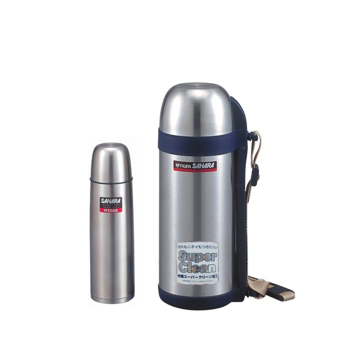 Tiger 05l  15l Double Stainless Steel Bottle Set