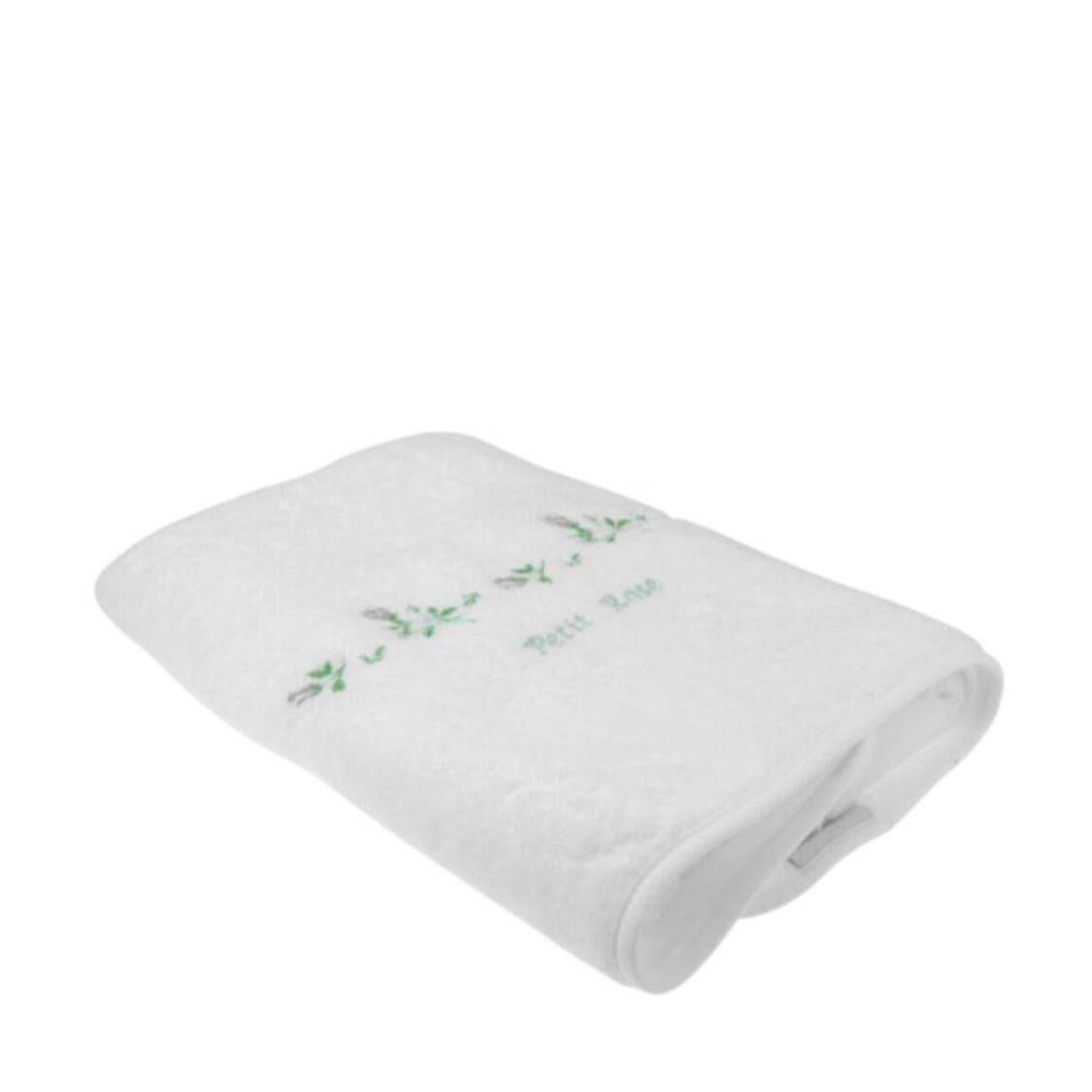 Petit Rose 100 Combed Cotton Bath Towel White