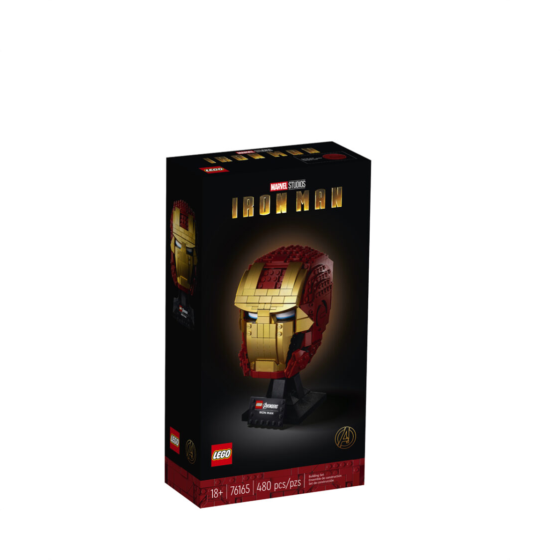 LEGO Iron Man Helmet 76165 V29