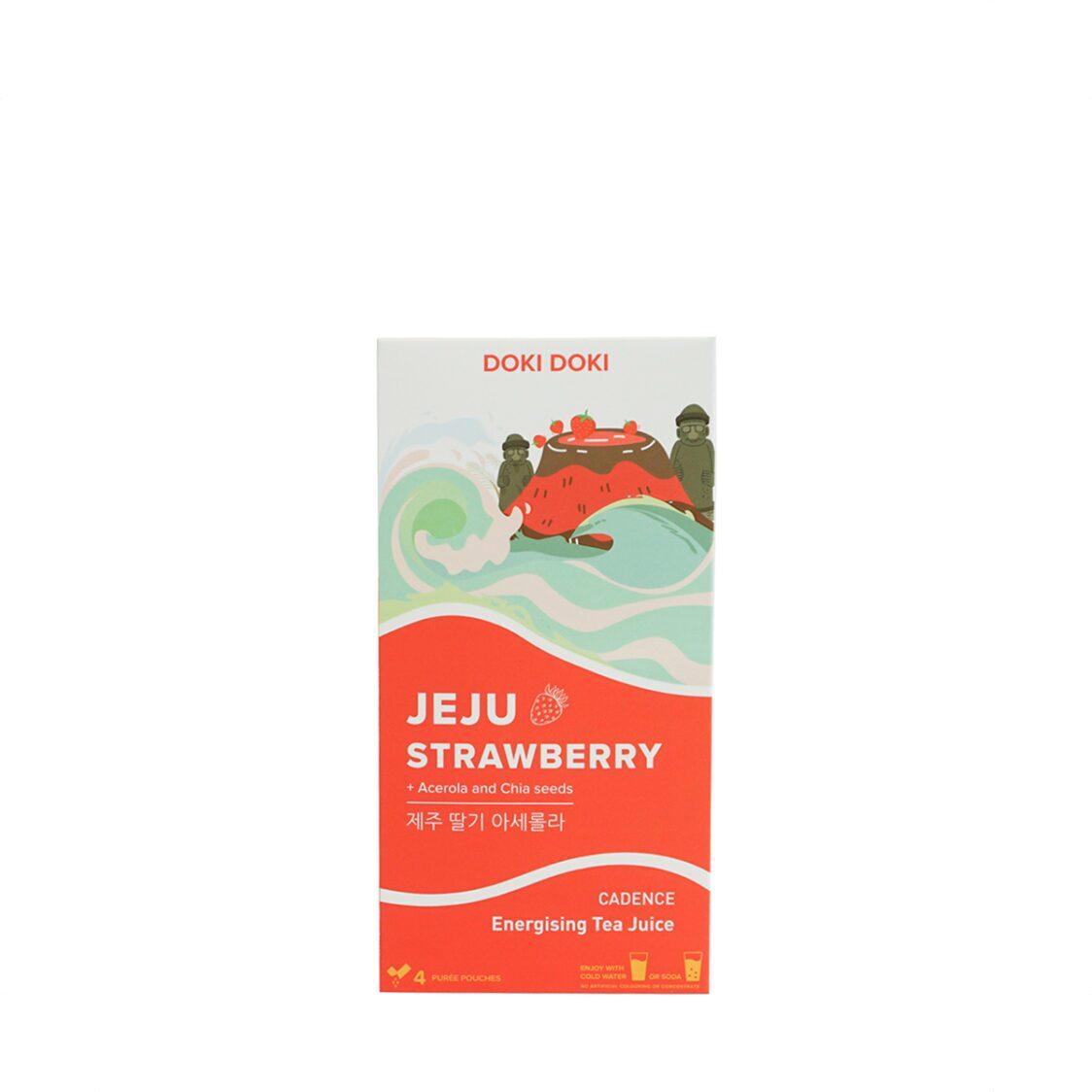 Doki Doki Energising Tea Juice - Jeju Strawberry