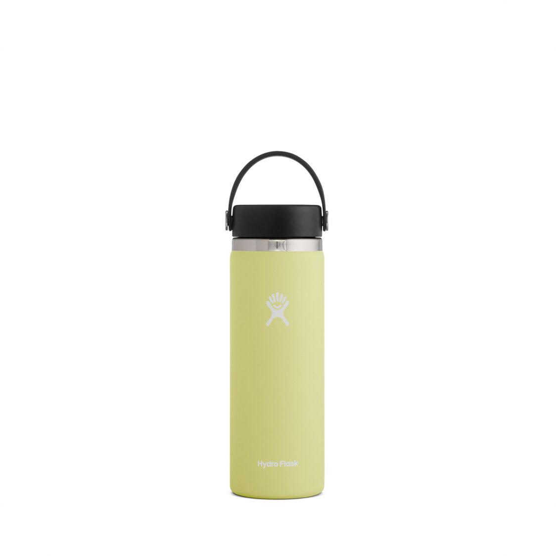 Hydro Flask Wide Mouth Flex Cap 20oz Pineapple