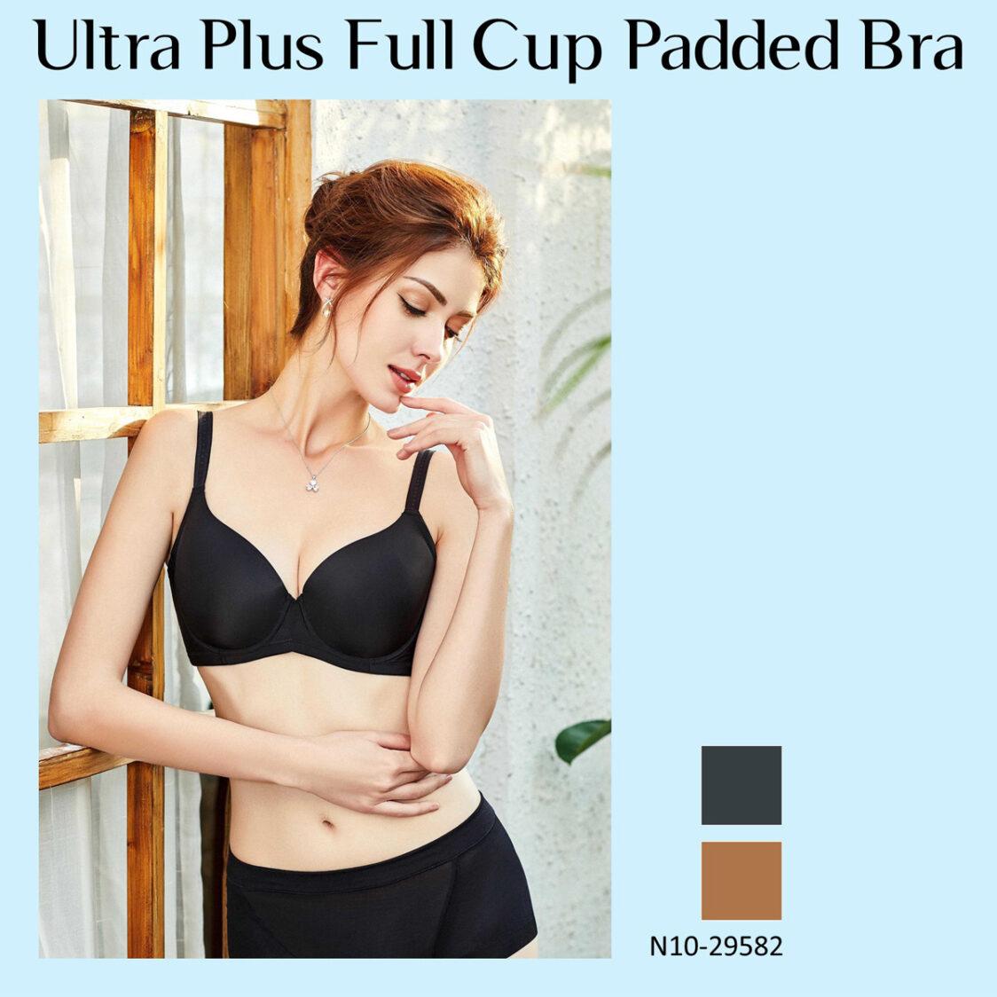 Ultra Plus Full Cup Padded Bra N10-29582BLK Black