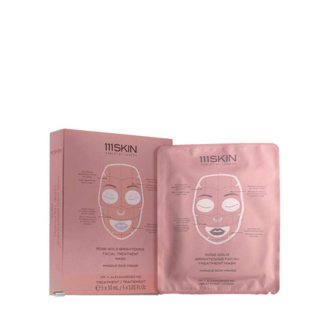 111SKIN Rose Gold Brightening Facial Mask Treatment