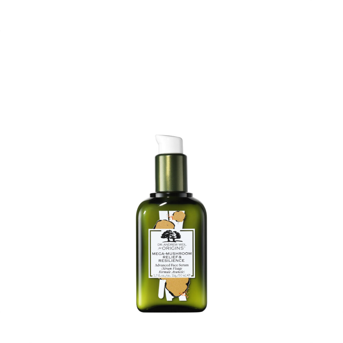 Limited Edition Dr Andrew Weil for Origins Mega-Mushroom Relief  Resilience Advanced Face Serum 50ml