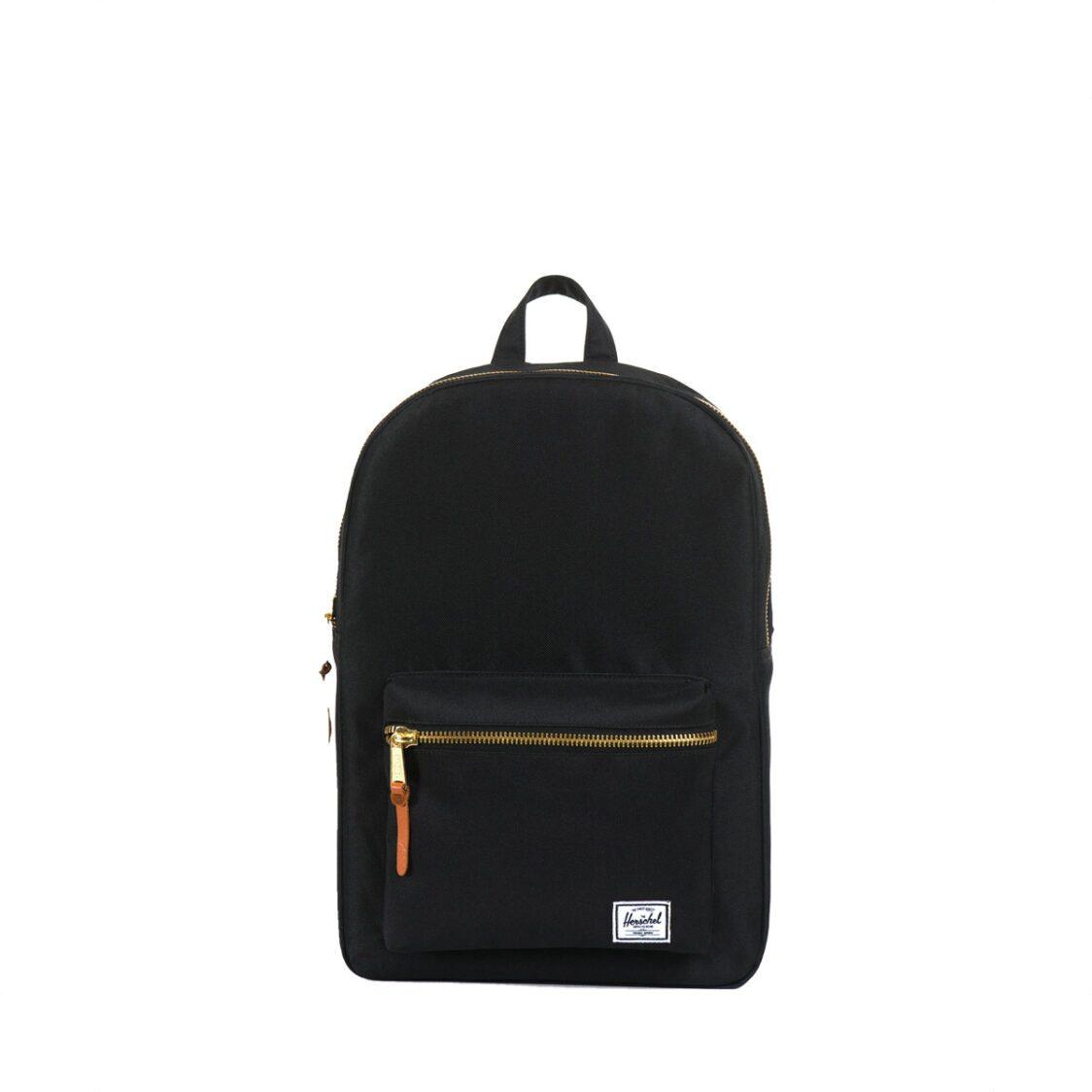 Herschel Settlement Mid-Volume Black Backpack 10033-00001-OS