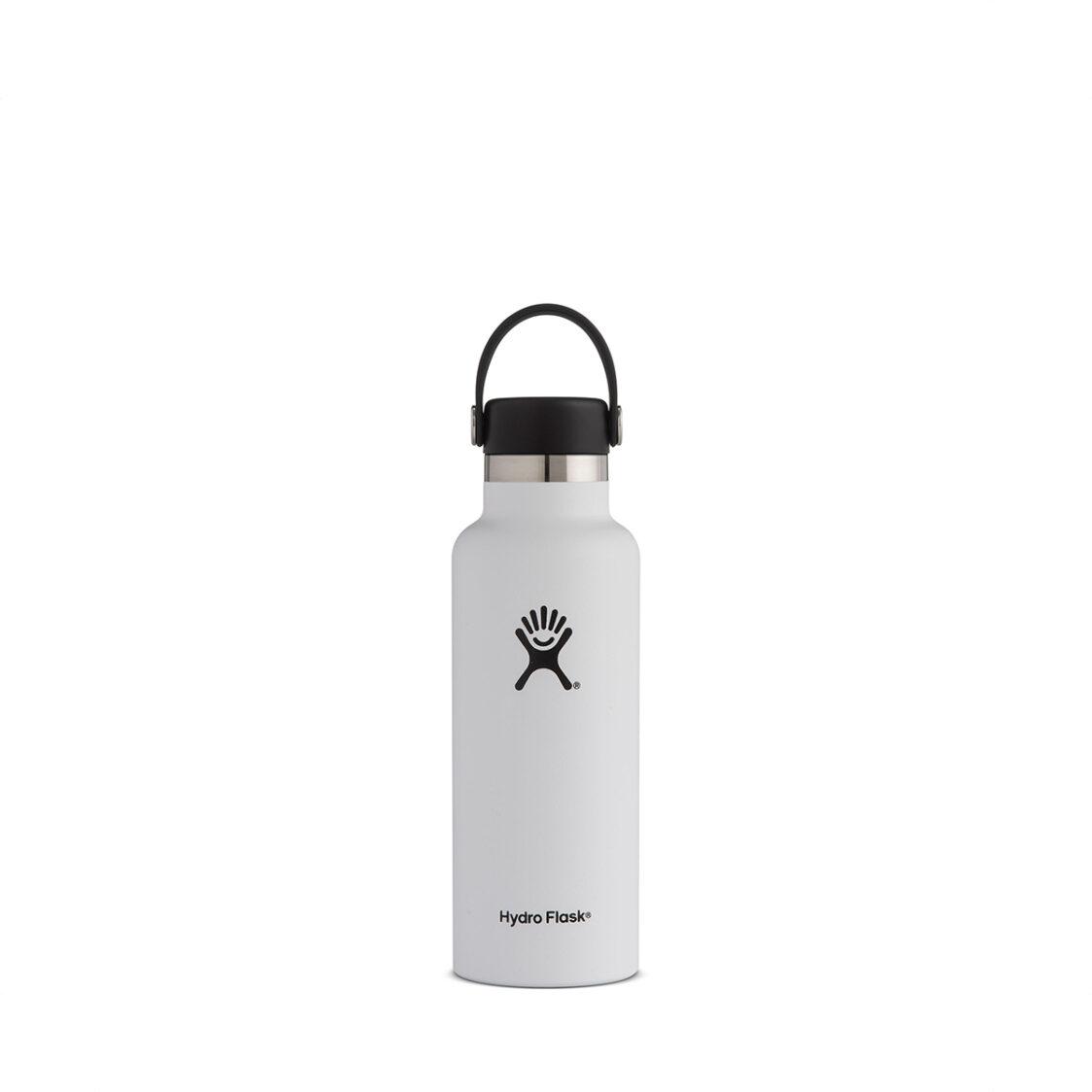 Hydro Flask Standard Flex Cap 18oz White