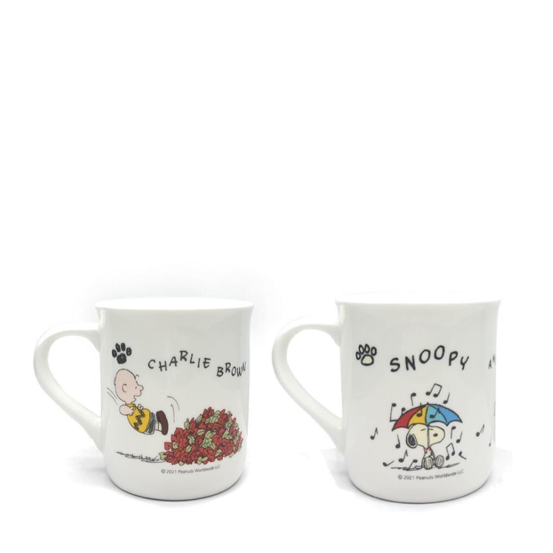 Corelle 2Pc Mug Set - Snoopy Re-Born
