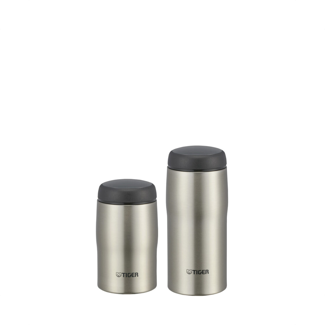 Tiger 240ml360ml Double Stainless Steel Mug Set Made In Japan Clear Stainless
