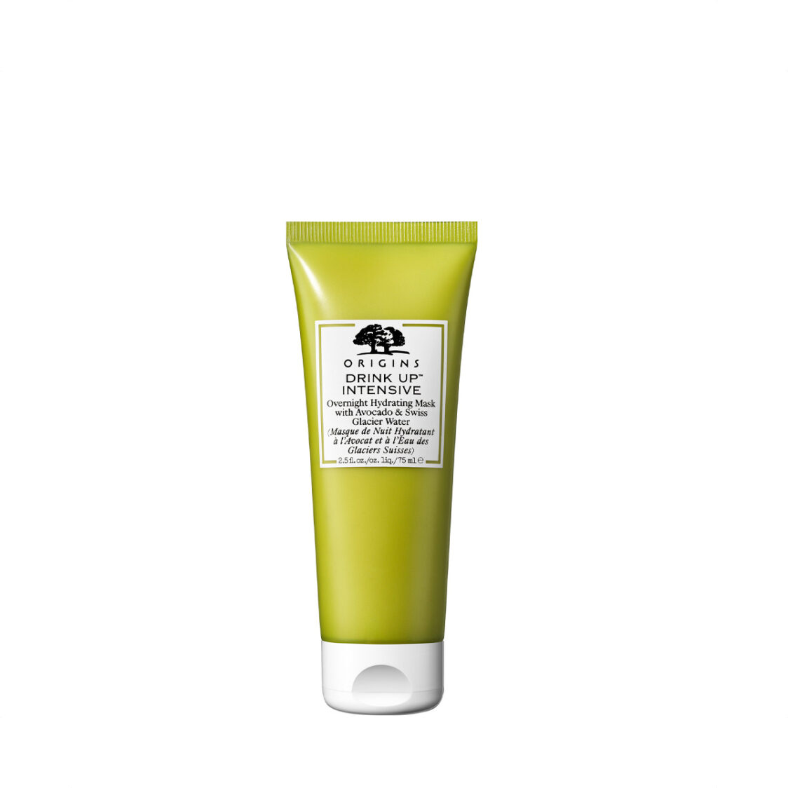 Origins Drink Up Intensive Overnight Hydrating Face Mask With Avocado  Glacier Water 75ml