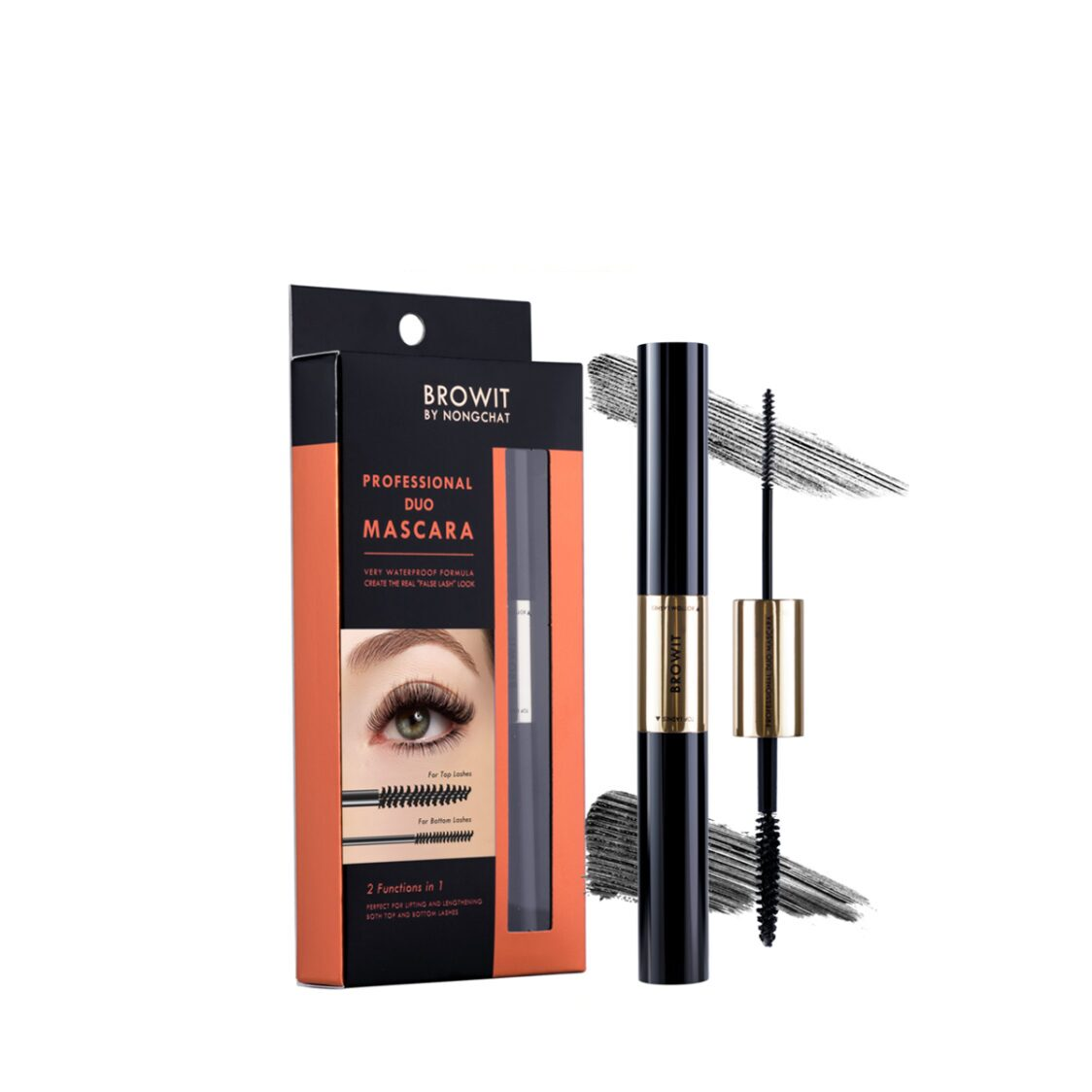 Browit Professional Duo Mascara 44G Sexy Black
