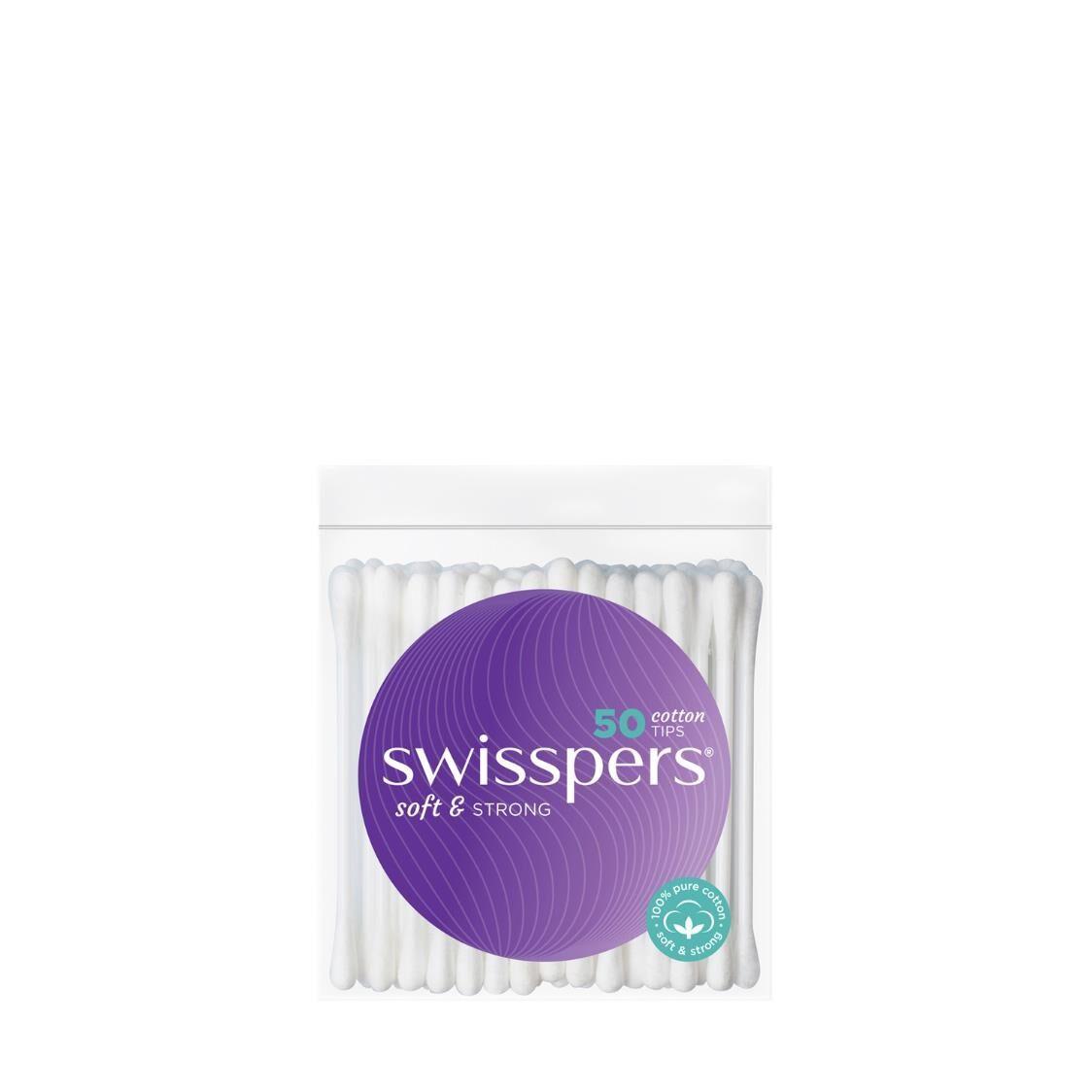 Swisspers Cotton Tips 50 Pack