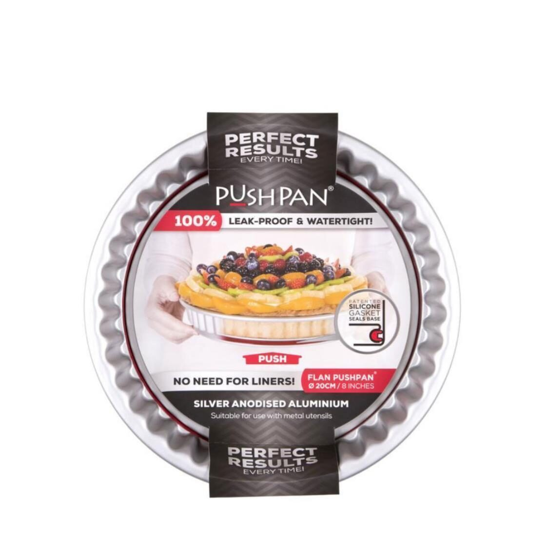 Pushpan Round Flan And Quiche Pan 20cm