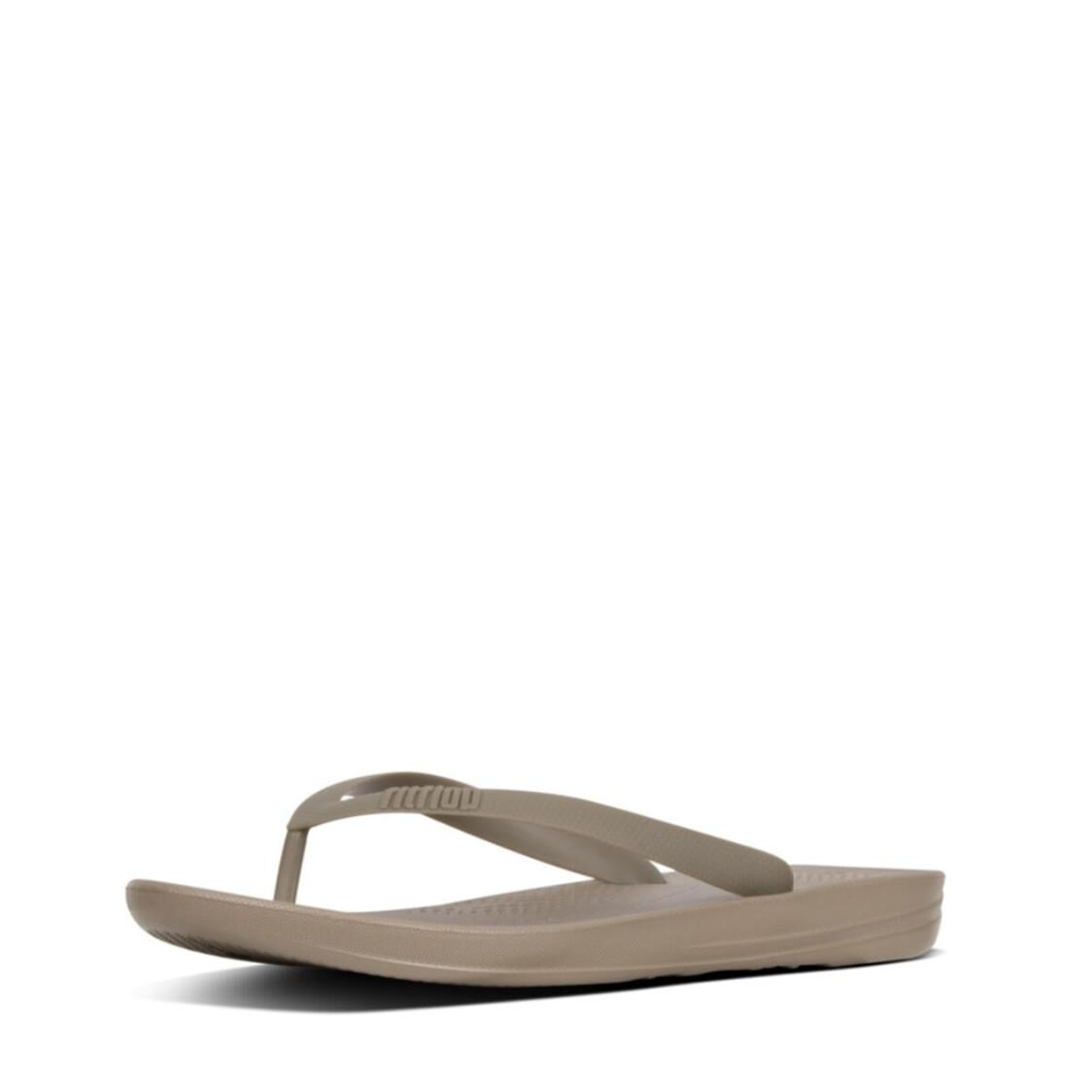 Fitflop Gogh  Moc Slide In Leather Timberwolf