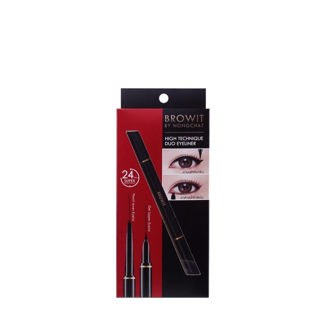 Browit High Technique Duo Eyeliner 05Ml014G Black