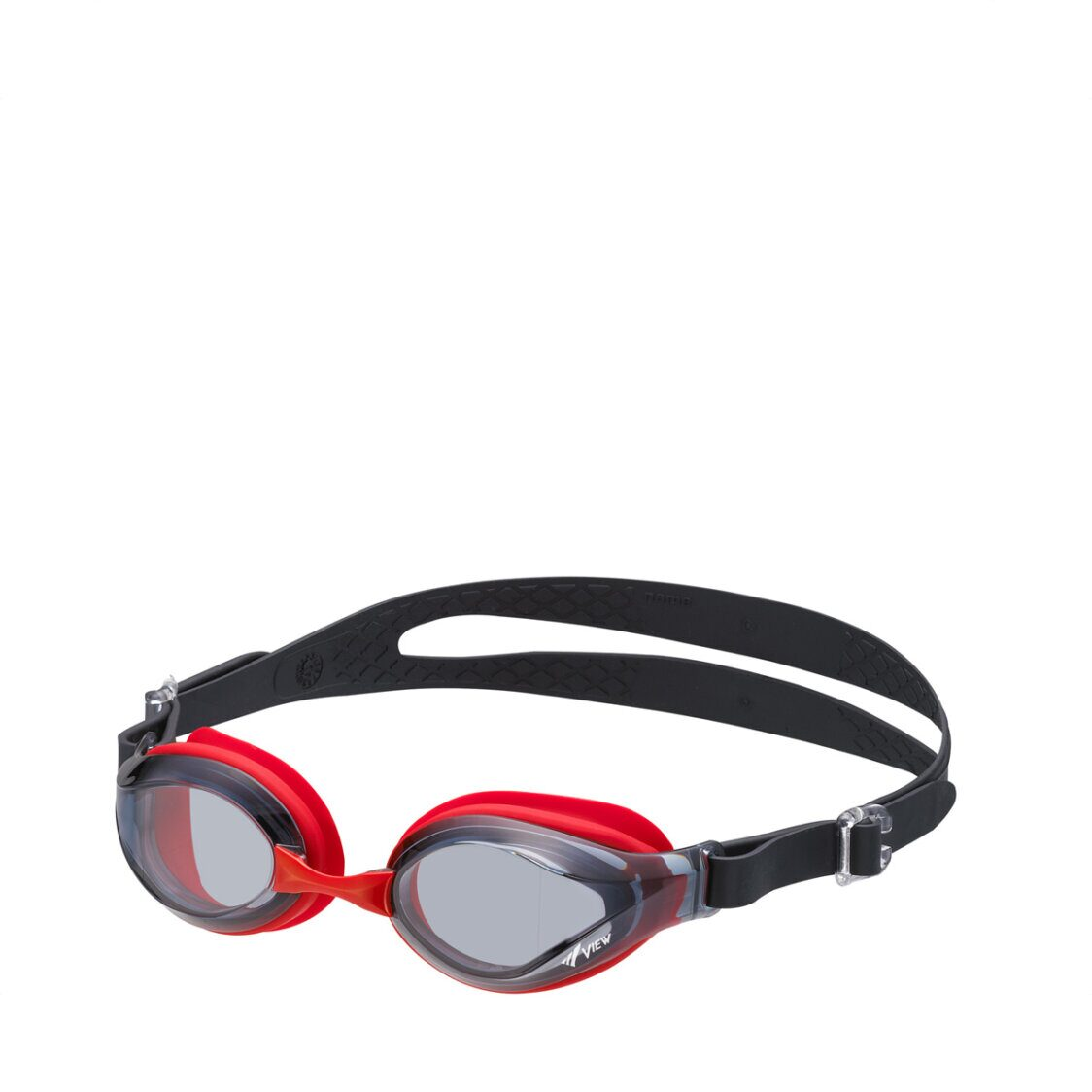View Junior Goggle 6 To 12 Years Old Smoke Red AAV760JA