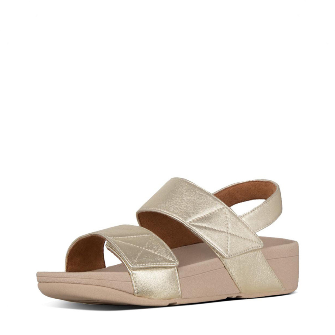 Fitflop Mina Back Strap Sandals Platino
