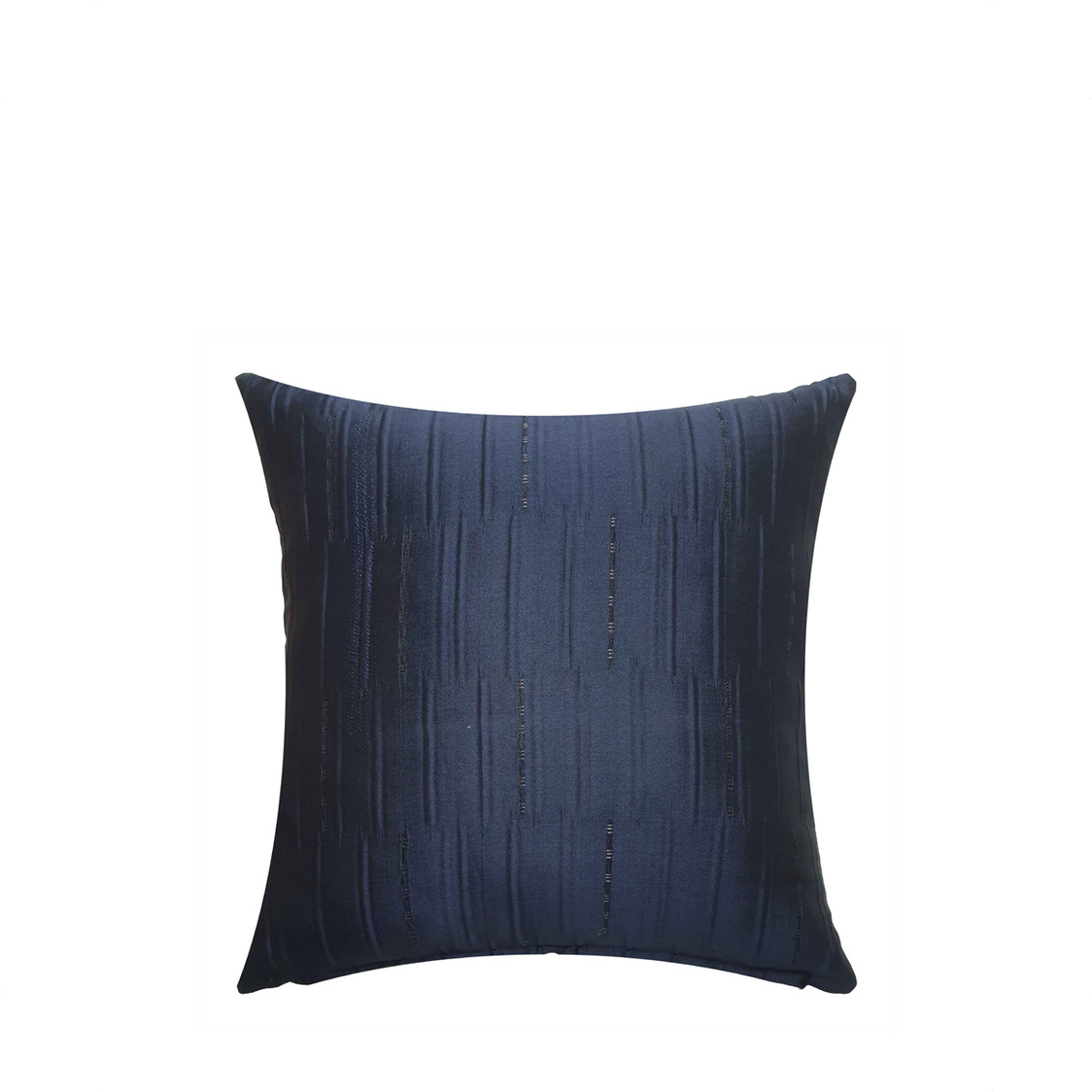 JRapee Pleats Cushion Cover Navy 43x43cm