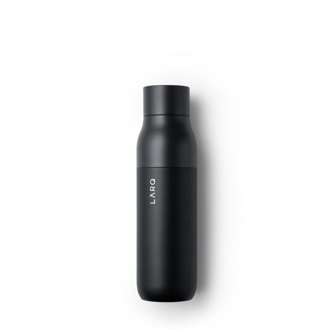 Larq Self - Cleaning Bottle 500ml Obsidian Black