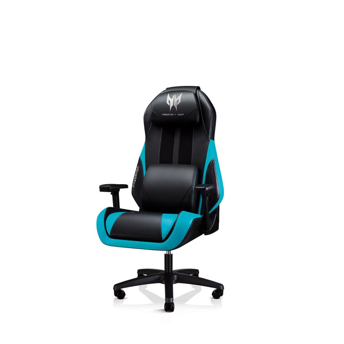 OSIM x Predator Gaming Chair Blue
