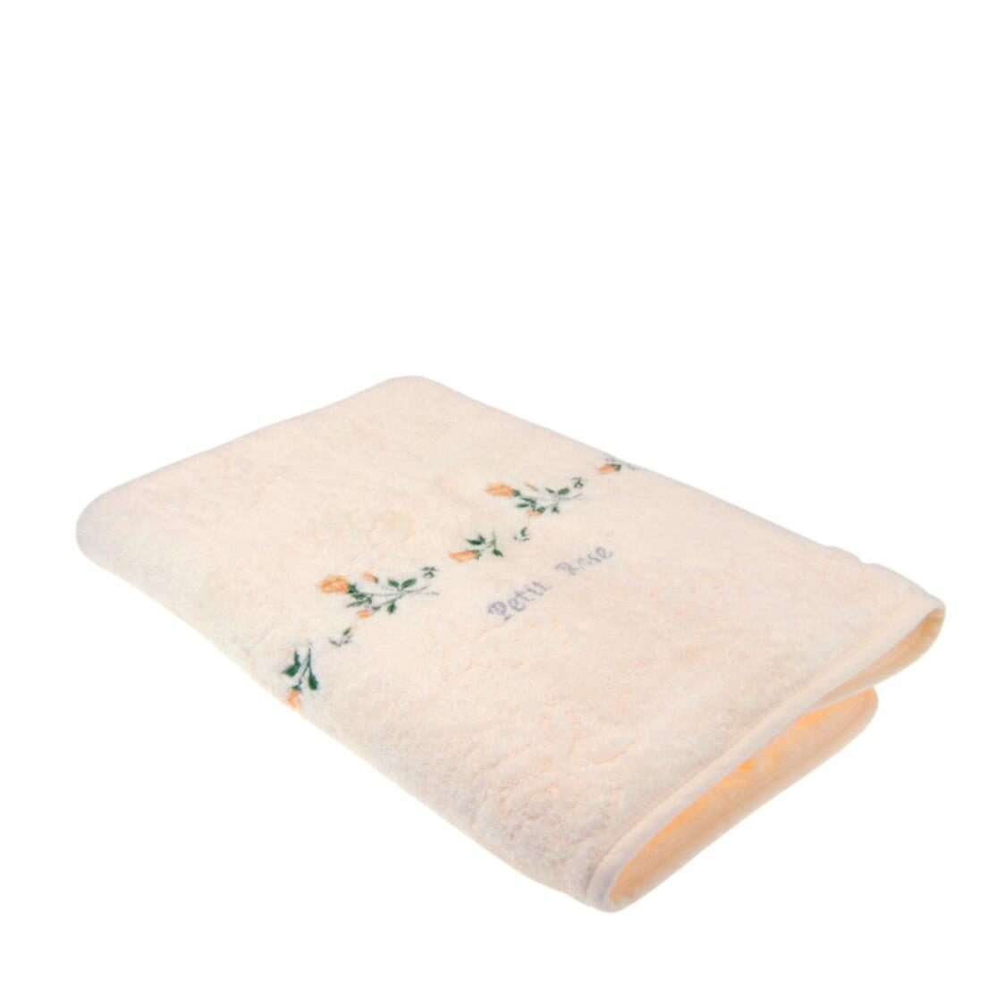Petit Rose 100 Combed Cotton Bath Towel Yellow